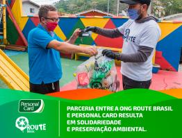 Parceria entre ONG e Personal Card resulta em maior solidariedade e consciência ambiental