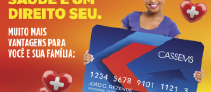 Cassems e Personal Card lançam Cartão Convênio Cassems